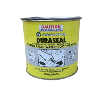 550G Ormonoid Duraseal Water Proofing Putty Black
