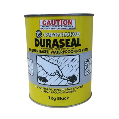 1 Kg Ormonoid Duraseal Water Proofing Putty Black