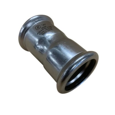15mm Coupling Socket Press Stainless Steel