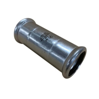 35mm Slip Coupling Socket Press Stainless Steel