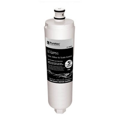 Puretec CC-QZP51 5 Micron Compatible Water Filter Cartridge 8""