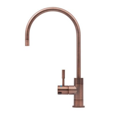 Puretec DFU250 Brushed Bronze Designer Water Filter Faucet With LED Reminder Light