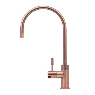 Puretec DFU260 Antique Rose Gold Designer Water Filter Faucet With LED Reminder Light