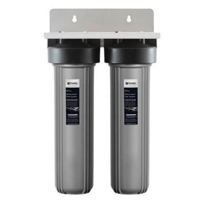 "Puretec EM2-140 Dual 20"" Whole House Rain & Mains Water Filter System"