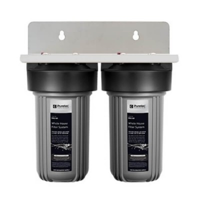 "Puretec EM2-75 Dual 10"" Whole House Rain & Mains Water Filter System"