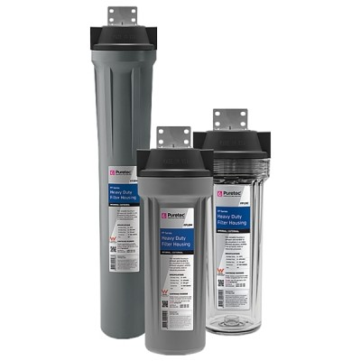 Puretec FP10C Heavy Duty Water Filter Housing With Clear Bowl