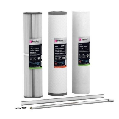 Puretec HR-G13R11P Water Filter & UV Maintenance Kit Suit Hybrid G13 & R11 20""