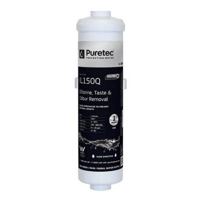 Puretec IL150Q 1 Micron Inline Fridge Water Filter Cartridge