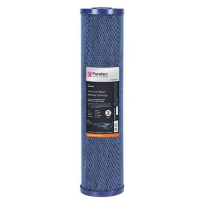 "Puretec MC05MP2 5 Micron Moulded Carbon Water Filter Cartridge 4.5"" x 20"""