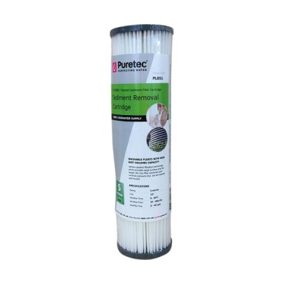 Puretec PL051 Pleated Sediment Water Filter Cartridge