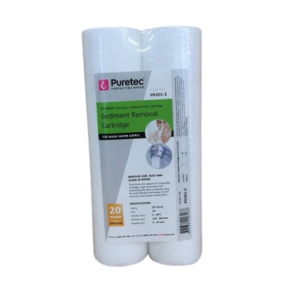 Puretec PX201-2 Polyspun Sediment Water Filter Cartridge