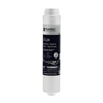 Puretec QT12R Quick Twist Replacement Water Filter Cartridge 1 Micron