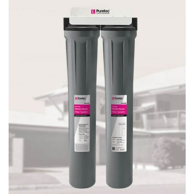 Puretec WH2200 Slimline Whole House Dual Water Filter