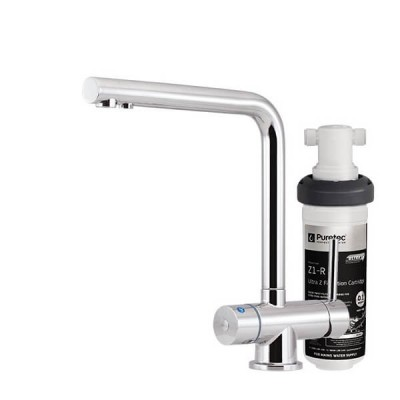 Puretec Z1-T6 Tripla Water Filter Kit Undersink With 3 Way LED Mixer Tap