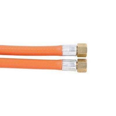 """900mm PVC LP Gas Hose 1/4"""" BSP Female Cone 6HAB Class C"""
