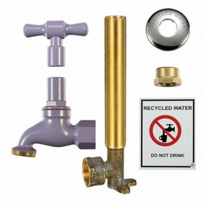 Recycled Lilac Water Kit 18mm With Extended Lugged Elbow RW19K