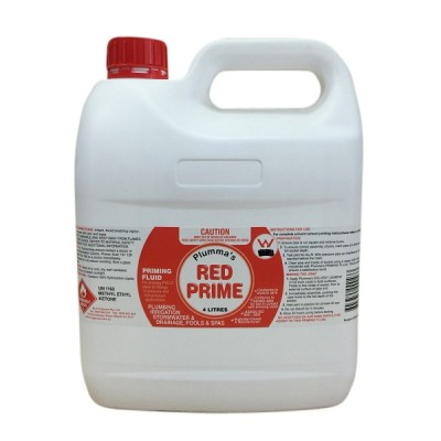 Red Priming Fluid 4 Litre