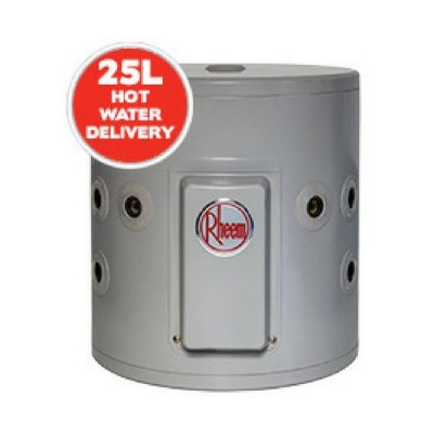 Rheem 25 Litre Electric Dual Handed Hot Water System Plug In 2.4Kw 191025G5P 7 Year