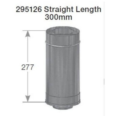 Rheem 27 Internal Flue Straight Length 300mm 295126