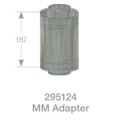 Rheem Male Flue Adaptor Model 295124