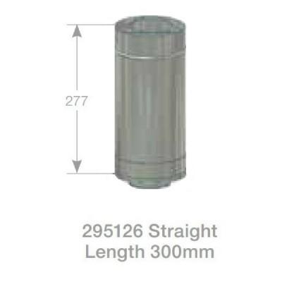 Rheem Straight Flue 300mm Model 295126
