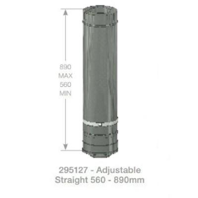 Rheem Straight Flue Adjustable Model 295127