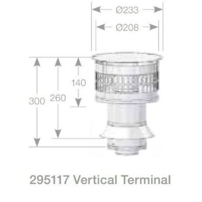 Rheem Vertical Flue Terminal Model 295117