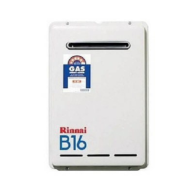 Rinnai B16 Preset 60C Natural Gas Builders Series Continuous Flow Hot Water System B16N60A