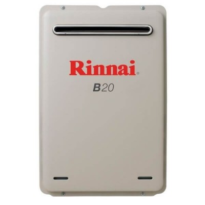 Rinnai B20 Preset 50C Natural Gas Builders Series Continuous Flow Hot Water System B20N50A