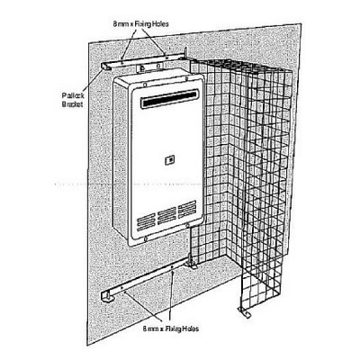 Rinnai CAGE01 Single External Security Cage