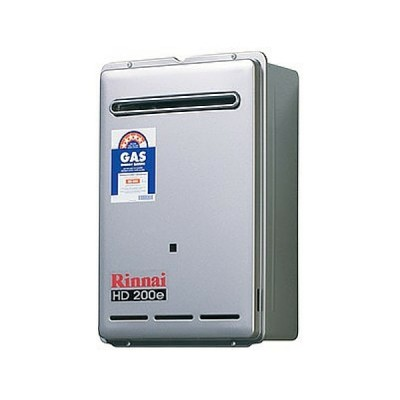 Rinnai HD200E Preset 75C Heavy Duty Hot Water External Nat Gas HD200N75