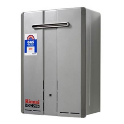 Rinnai HDC211E Preset 75C Natural Gas Heavy Duty Condensing Hot Water External HDC211EN75