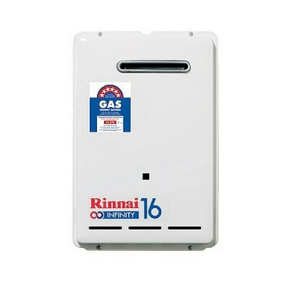 Rinnai Infinity 16 Preset 60C Natural Gas Continuous Hot Water System