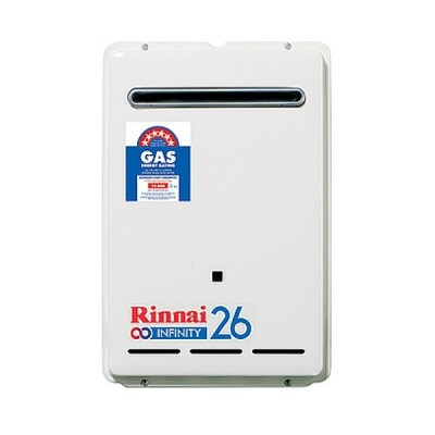 Rinnai Infinity 26 Preset 60C Natural Gas Continuous Hot Water System