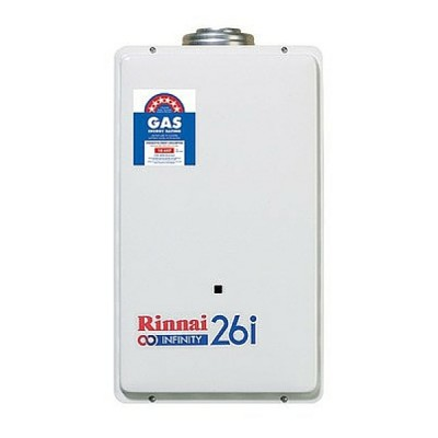 Rinnai Infinity 26I Preset 60C Internal Continuous Hot Water System Natural Gas