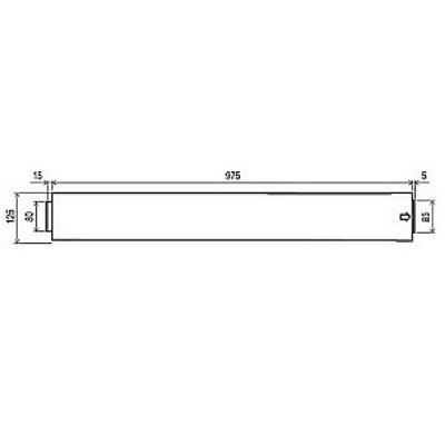 Rinnai Infinity FFPIPE1000 Flue Pipe 1000mm