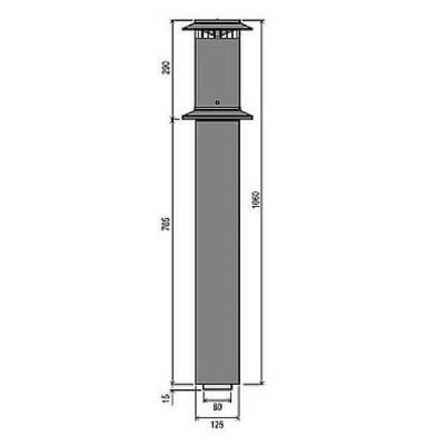 Rinnai FFROOFCOWL Vertical Flue Terminal
