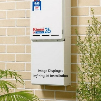 Rinnai Infinity Hot Water System Pipe Pipe Cover PC11 Euro White