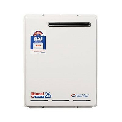 Rinnai Infinity Smartstart 26 Preset 50C Hot Water System Natural Gas