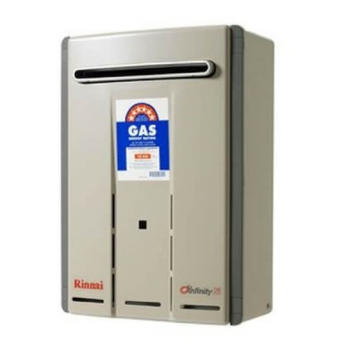 Rinnai Infinity Touch 26 Preset 50C Natural Gas Continuous Flow Hot Water System INF26TN50MA