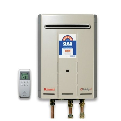 Rinnai Infinity Touch 26 Preset 60C Continuous Hot Water System Natural Gas