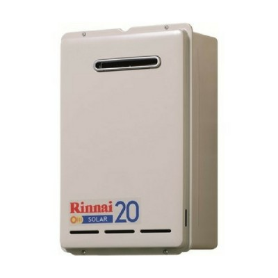 Rinnai S20 Solar Booster Continuous Flow Hot Water System Nat Gas S20N70
