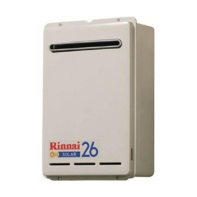 Rinnai S26 LP GAS Solar Booster Continuous Flow Hot Water System S26L70