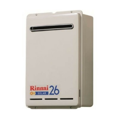 Rinnai S26 Natural Gas Solar Booster Continuous Flow Hot Water System S26N70