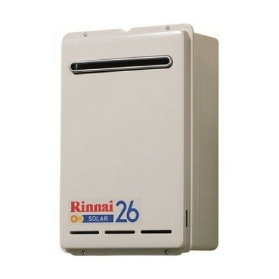 Rinnai S26 Solar Booster Continuous Flow Hot Water System LP GAS S26L70