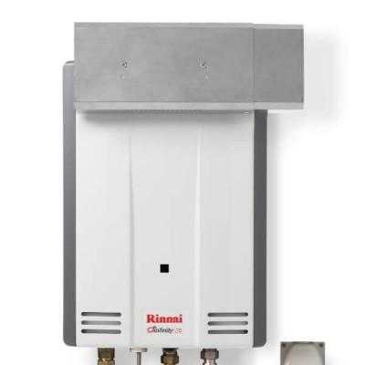 Rinnai SFD01 Sideways Flue Diverter For Continuous Hot Water Heater B26 & INF26