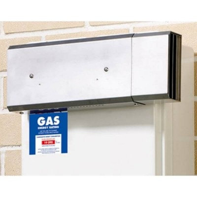 Rinnai SFD02 Sideways Flue Diverter For Continuous Hot Water Heater B16 & INF16M