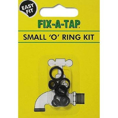 Small O-Ring Kit (Pk 10) Fixatap 206305