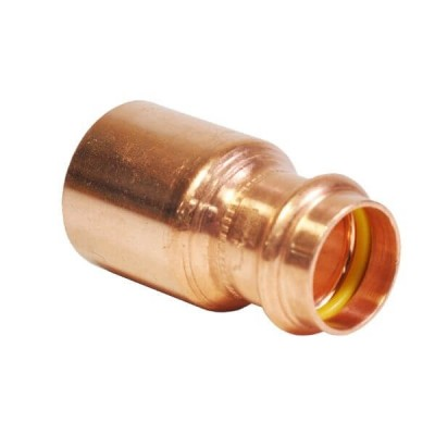 "20mm X 15mm 1/2"" M x F Reducer Gas Copper Press"