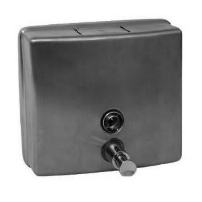 Square Soap Dispenser Stainless Steel WA-SD-S